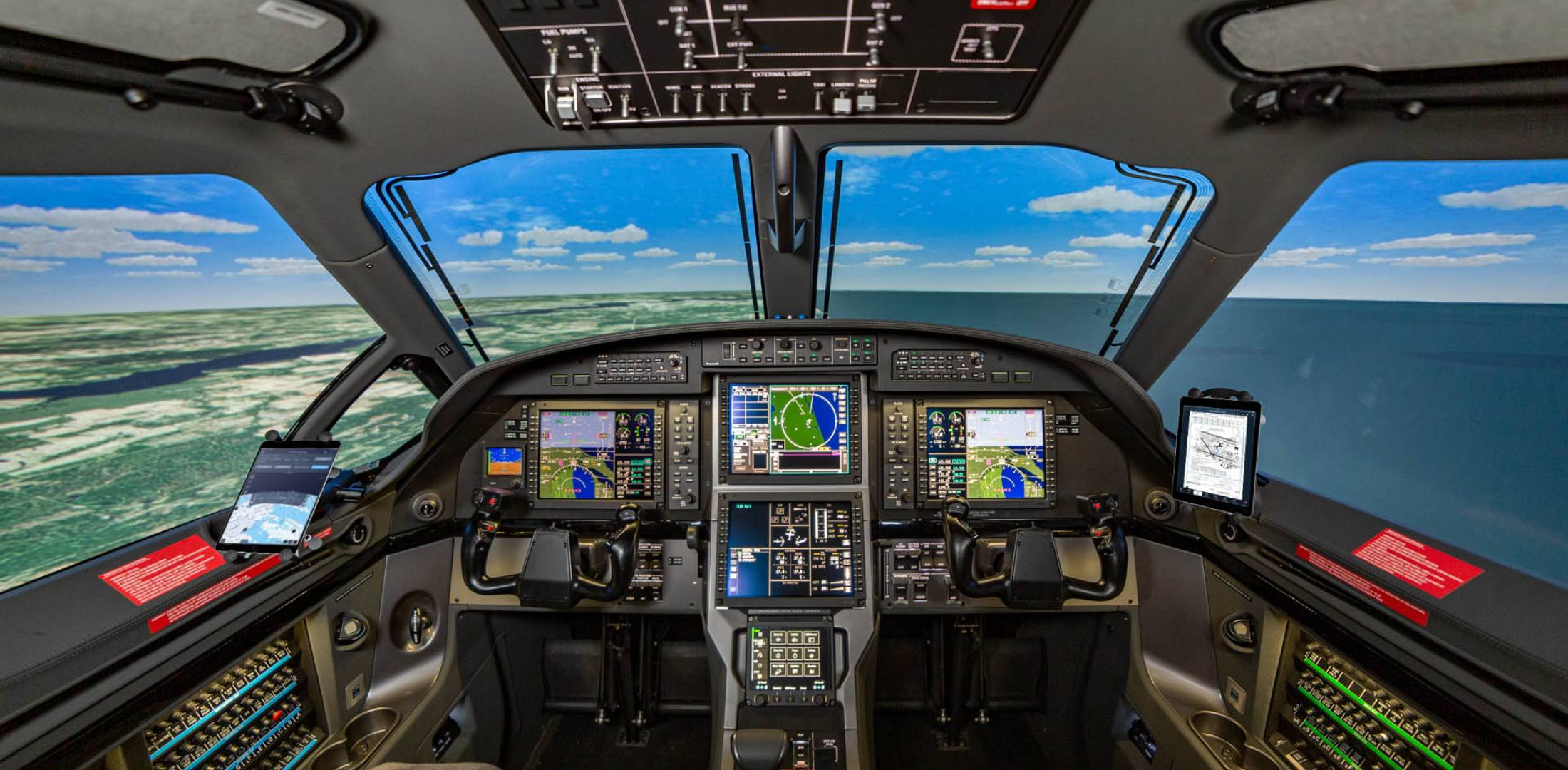 PC-12 NGX flight training device