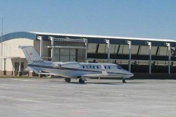 Former Advanced Air FBO at CBF