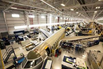 Global 7500 production