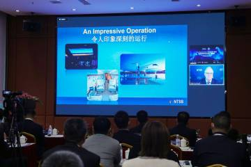 NTSB chairman Robert Sumwalt speaks at China Business Aviation Safety Day 2021