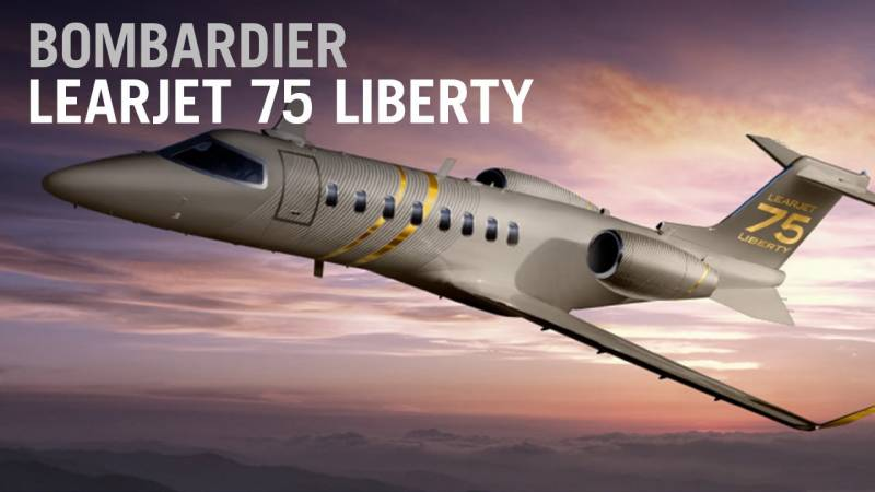 The Learjet 75 Liberty is now in service
