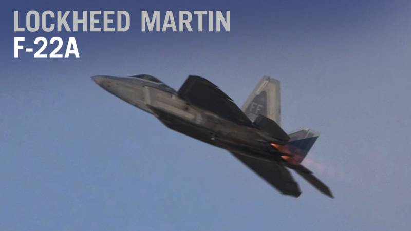 Lockheed Martin's F-22A Raptor Rocks the Dubai Airshow - AIN