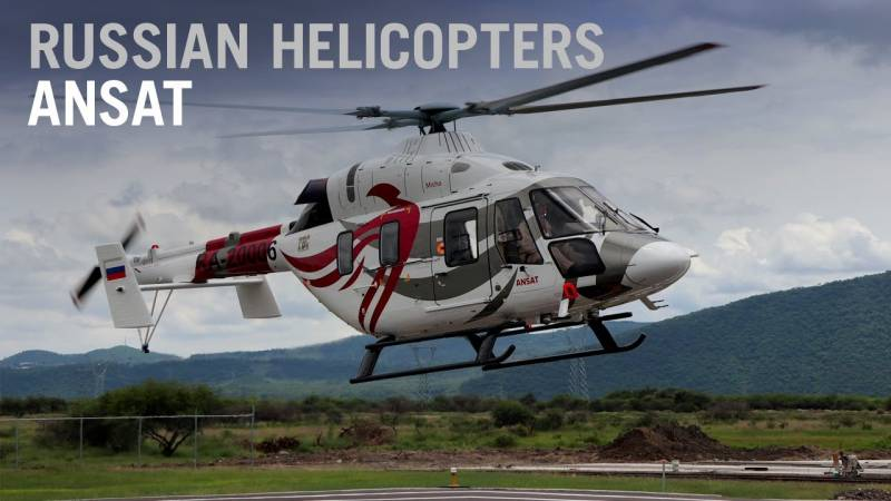Mexican Market Shows Interest in Russian-made Ansat Light Helicopter