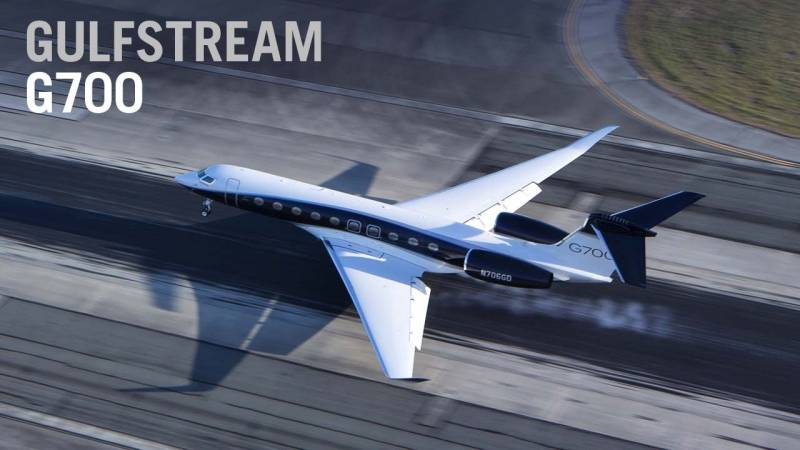 Step Aboard the First Production Gulfstream G700