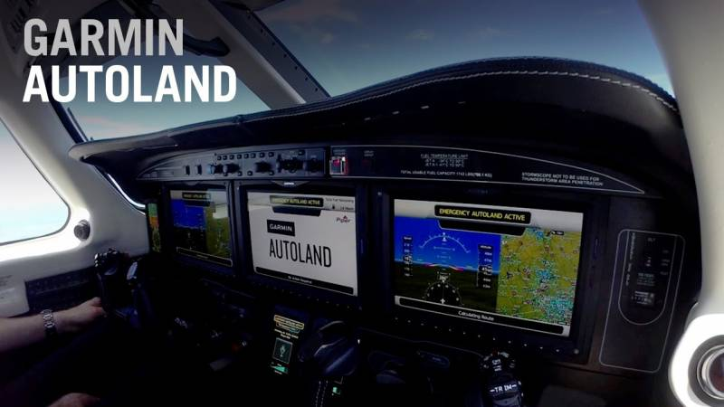 Garmin Receives the 2020 Collier Trophy for its Autoland System