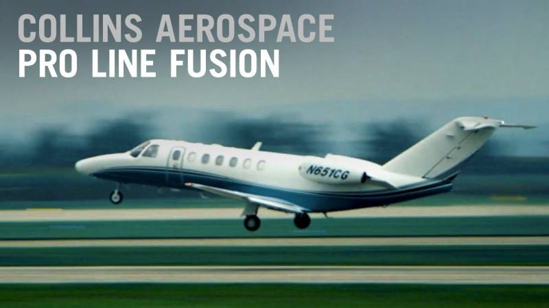 Be A Touch Above the Rest with Collins Aerospace's Pro Line Fusion Avionics Upgrade