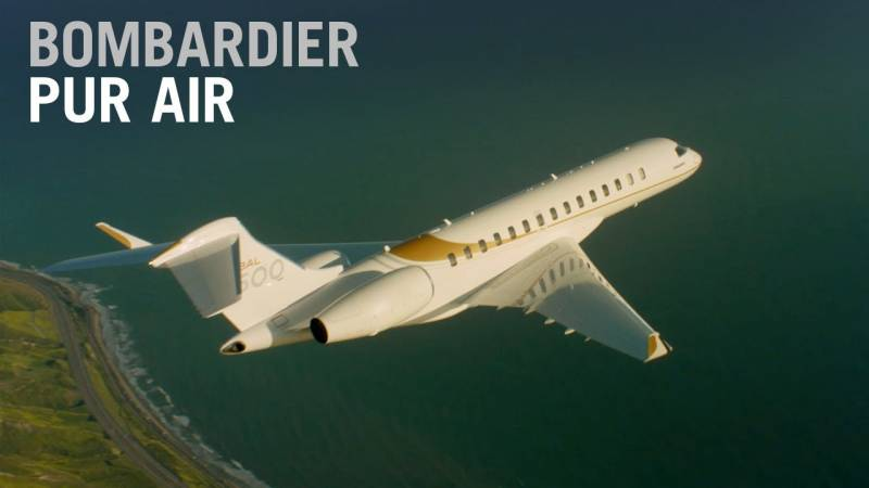 Breathe Easier with Bombardier Pũr Air