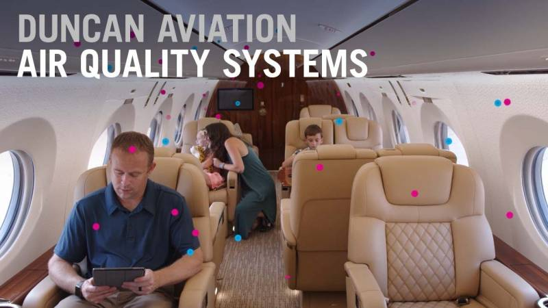 Air Quality Systems Installed by Duncan Aviation