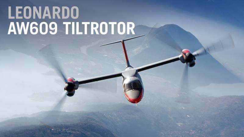 Japan Looks At AW609 Tiltrotor to Provide a Link to Remote Islands