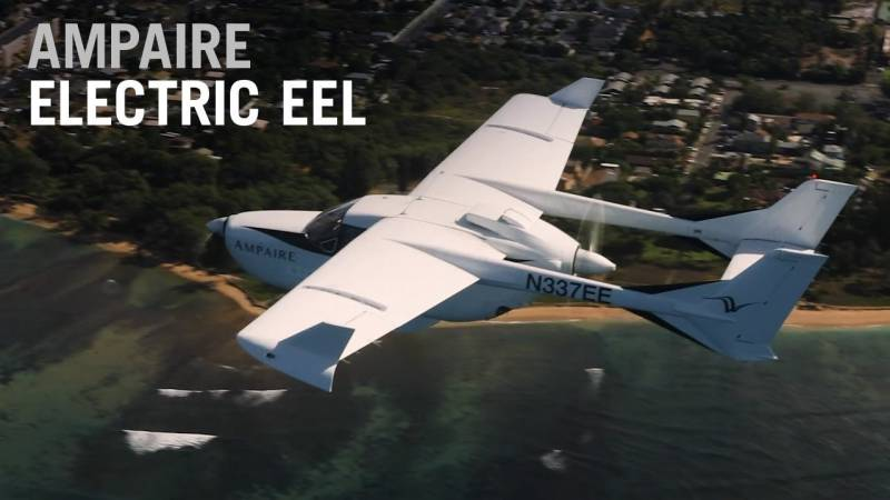 Ampaire's Electric EEL Tests Prepare the Way For Greener Airliner Services